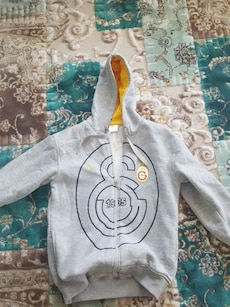 Grauer Galatasaray Pullover Hoodie