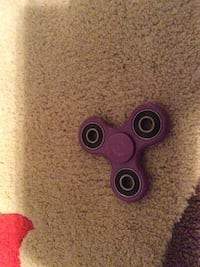 Purple fidget spinner