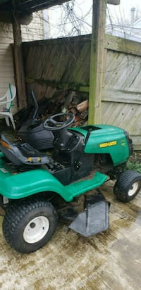green and black ride-on mower Bowie, 20716