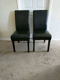 Faux Leather Parson Chairs Alexandria, 22302