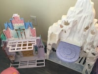 Disney frozen castle / no dolls