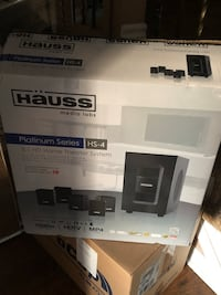 Hauss HS-4 Home Theatre System Brand new in the box opened never used Brampton, L6Z 2S5