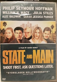 DVD FILM State and maind  Lessebo