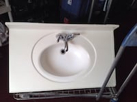 white ceramic sink with faucet 1211 mi
