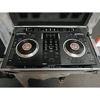 NS7 FX dj controller with flight case & FX controller
