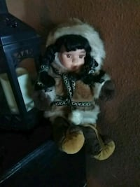 doll with brown and white fur coat Phoenix, 85015