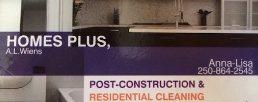 Home and post construction  cleaners