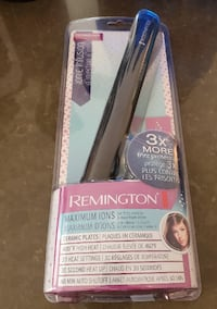 Remington Professional Style Hair Straightening Brush, with Advanced Anti-Static Ceramic Technology for Less Frizz