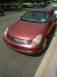 03 G35 infiniti no issues Capitol Heights, 20743