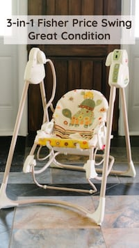 3-in-1 Fisher Price Swing Ajax, L1Z 1X2