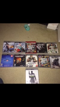 eleven Sony PS3 video games Stafford, 22554