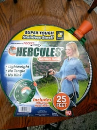 HERCULES 25 FT. STAINLESS STEEL POCKET HOSE-NEW Casselberry, 32707