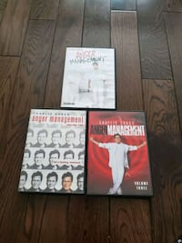 Complete 1-3 anger management  series  Guelph, N1E 6M2