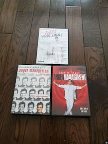 Complete 1-3 anger management  series