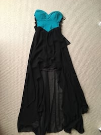 women's green and black sleeveless dress Ottawa, K1W 0A8