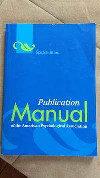 Publication Manual Sixth Edition book