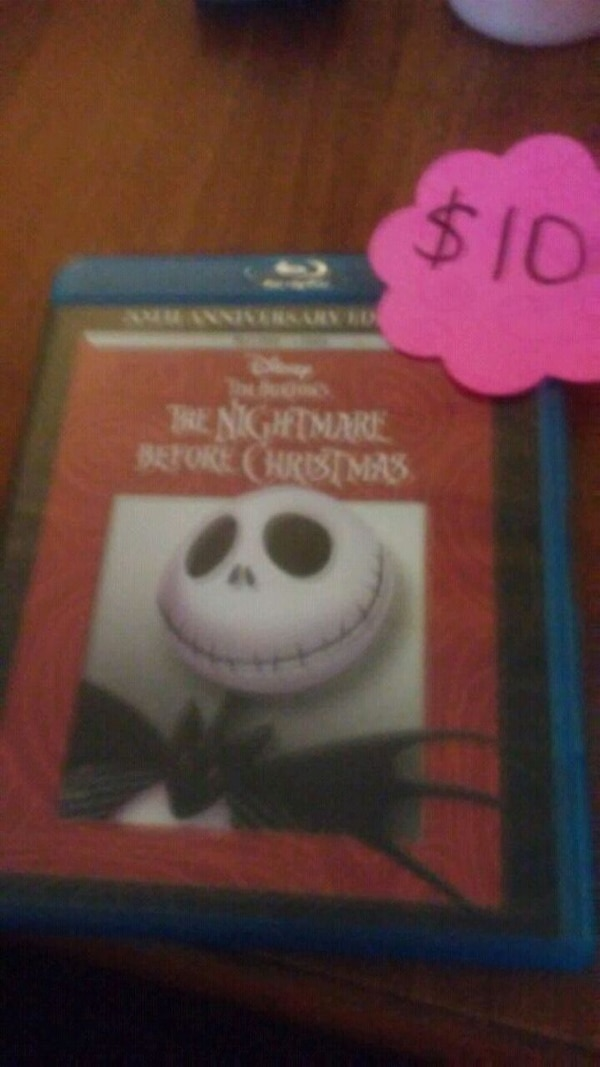 The Nightmare Before Christmas movoe
