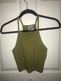 Green halter top size s Toronto, M4N