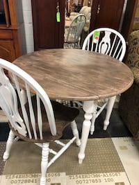Rustic Table Set 2 chairs Phenix City