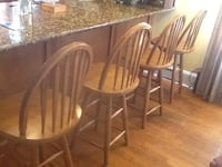 4 counter height stools 24 inches