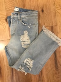 MNG high raised mom fit jeans size s Toronto, M9C 2A6