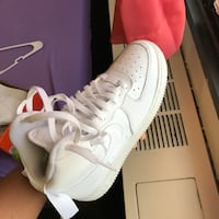 Air forces white Nike shoe size 6.5