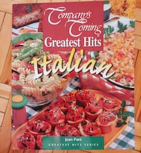 ITALIAN RECIPE BOOK at 10$ Ottawa, K1G 3P6