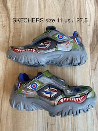 SKechers shoes size 11- with lights, sounds and remote controll