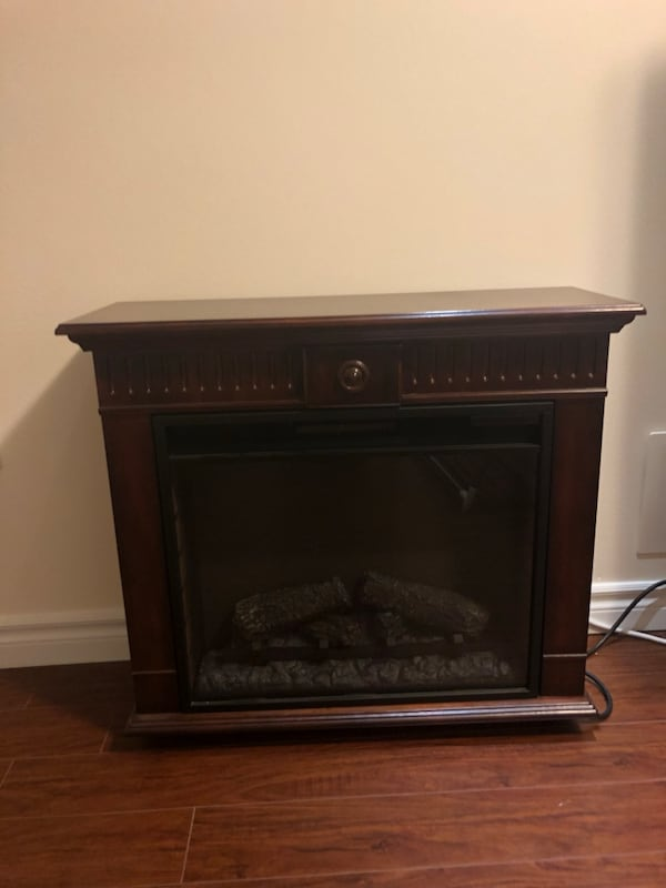 Electrical fireplace  1
