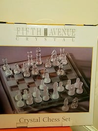 Chess Set - Crystal