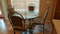 brown wooden table with four chairs Murfreesboro, 37130