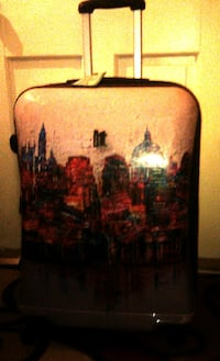 (IT) HARD SHELL LUGGAGE WITH LONDON DESIGN.