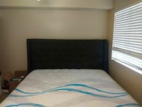 California king bed with mattress +frame