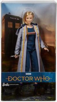 Doctor who Barbie doll 3751 km