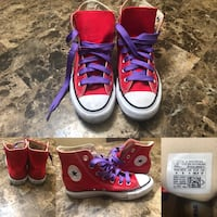 Red Hightop Converse w6 Tulsa, 74133