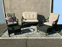 5 pice Gorgeous Patio Set, Couch Set Delivery Avai