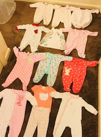 Newborn baby girl clothes and 0-3 Month baby girl clothes  Rochester, 14623