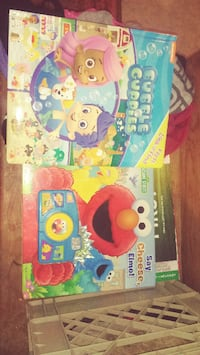 two Bubble Cuppies and Sesame Street books TORONTO