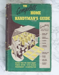 The Complete Home Handyman's Guide (1950) Hamilton