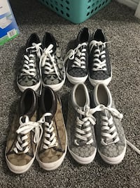 Size 8 Coach sneakers (for all) Clovis