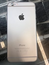 Used iPhone 6 64 GB internal storage in silver colour good condition Toronto, M9V 2X6