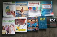 Health Sciences books (Anatomy, phlebotomy, ecg) Toronto, M6K 3N6