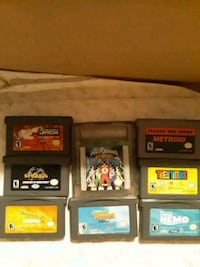 assorted Nintendo DS game cartridges 217 mi