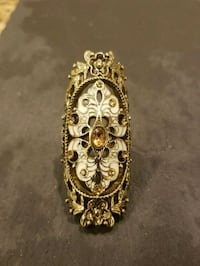 gold-colored floral pendant Gaithersburg, 20879