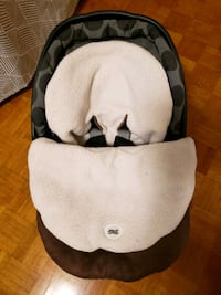 Winter car seat cover