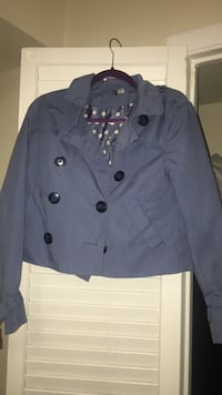 Blue H&M jacket Hyattsville