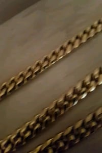 18k GP (Gold Plated) cuban links. London, N6C