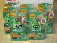 Schick Xtreme 3 Sensitive 4 pack Razors - $4 Each Hyde Park