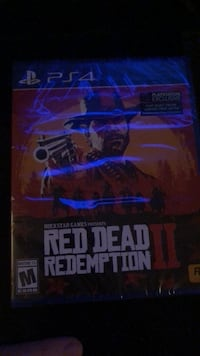 red dead redemption 2  ps4 (brand new) Rancho Cucamonga, 91737