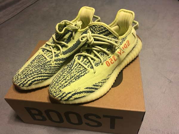 finest selection 757d3 f9481 Adidas Yeezy Boost 350 V2 Semi Frozen Yellow sz: 9.5